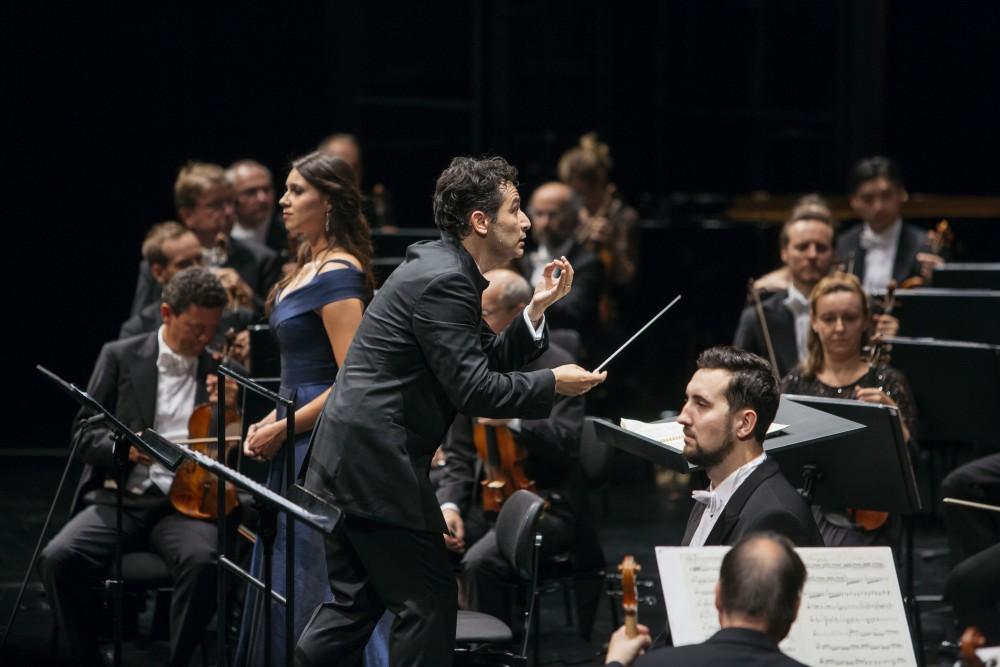 Andrés Orozco-Estrada at Bregenzer Festspiele