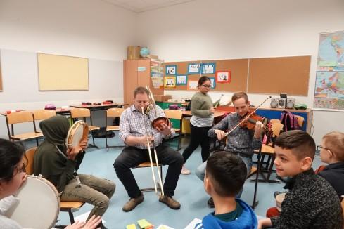 Wiener Symphoniker zu Gast in der NMS Gassergasse