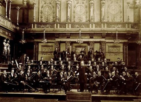 Gründungsfoto Wiener Symphoniker 1900