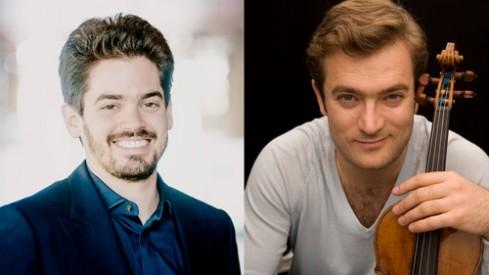 Lahav Shani & Renaud Capucon (c) Marco Borggreve & Francois Darmigny