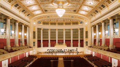 Neujahrskonzert Wiener Konzerthaus Großer Saal.(c) Lukas Beck