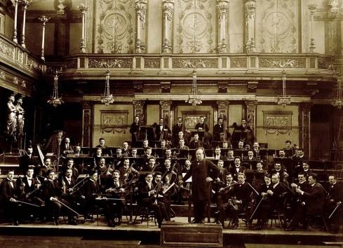 Wiener Symphoniker Gründungsfoto