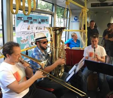 Orchester in Bewegung