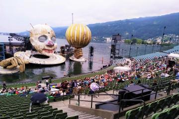 Bregenzer Festspiele Bühnepräsentation
