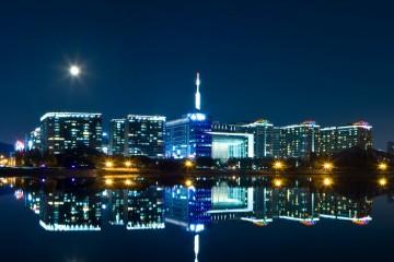 Seoul bei Nacht