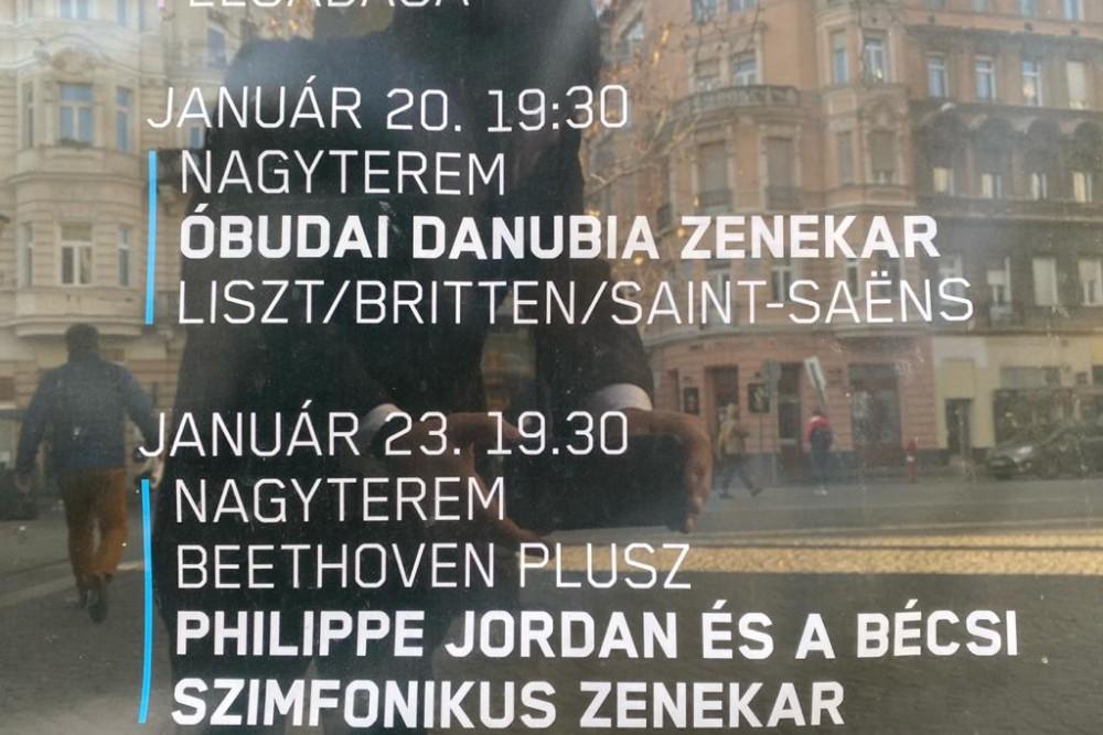Wiener Symphoniker Budapest Europatournee 2020