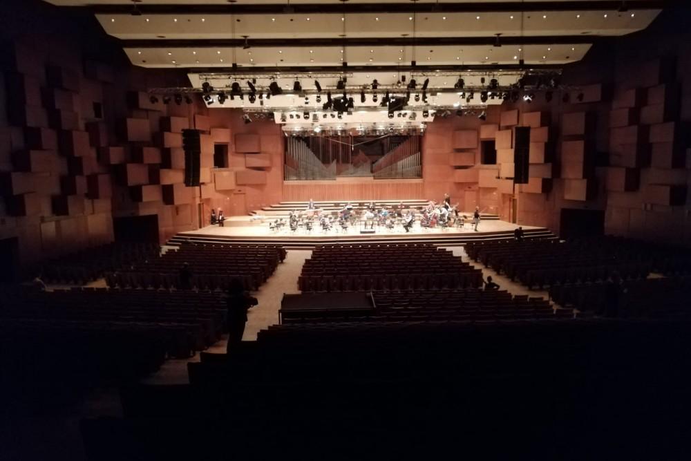 Wiener Symphoniker _ EuropaTournee 2020- Zagreb- Lisinski Konzertsaal