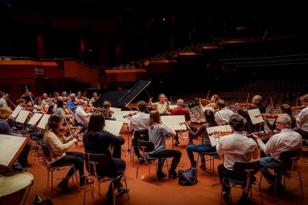 Wiener Symphoniker Probe Frankfurt