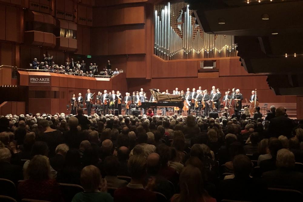 Buchbinder  Wiener Symphoniker- Europatournee- Frankfurt 2020