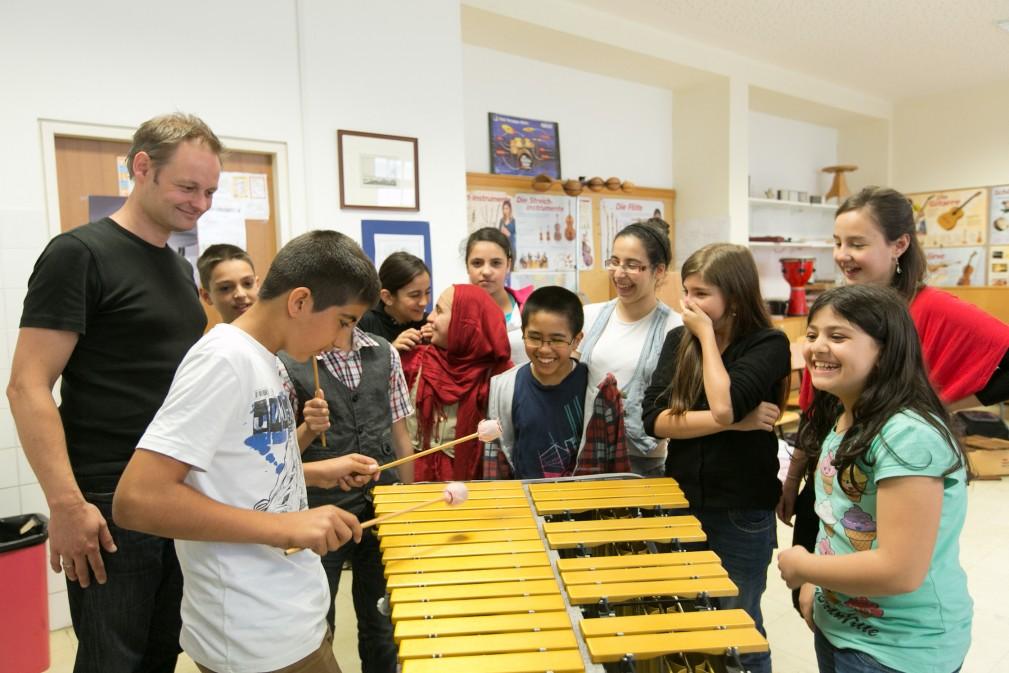 Workshops Young Symphony (c) Martina Draper