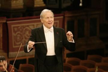 Dirigenten Georges Pretre (c) Stephan Trierenberg
