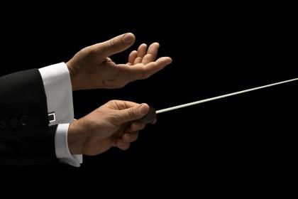 Dirigenten Stock