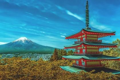 Fuji Japan groß