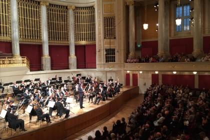 Leonidas Kavakos & Wiener Symphoniker at Wiener Konzerthaus
