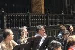 Probe Wiener Symphoniker Budapest Europatournee 2020