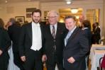 Orchestervorstand Thomas Schindl - Rudolf Streicher Präsident WS- Bürgermeister Michael Ludwig